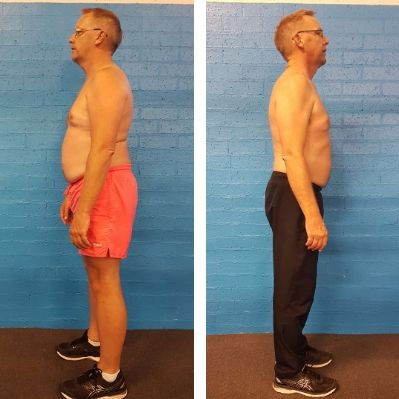 Body Revival Before and After Photo - Greg. 8 week fitness challenge