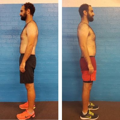 Fitness Results Wollongong. Body Revival 8 week Challenge. Before and After photo